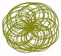 5d Flash Scan Spiralsymbol: Der Ball Ist die allumfassende Liebe um euer Energiefeld herum. Er strahlt Schutz und Wärme aus.