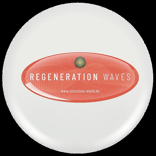 """CONSMit unserem conscious world  Quencie """"Regeneration Waves"""" erschaffen wir ein Frequenzfeld, das den besonderen Anforderungen an regenerative Prozesse in unseren Zellen gerecht wird.CIOUS WORLD-Regeneration-Waves-oben."""