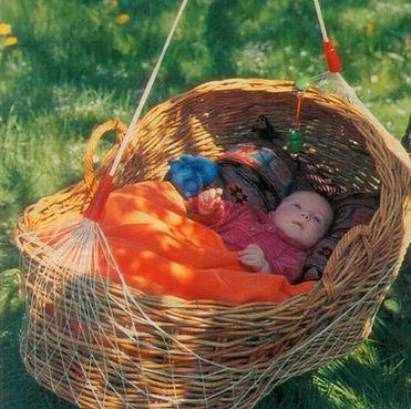 Lullababy BabyMove Federwiege
