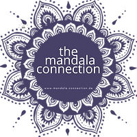 dunkelblau Mandala transparent- 484167-f