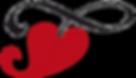 Das Herz, des Federwiegen Logos von Lullababy International. Die Federwiege symbolisiert die Liebe der Mutter zu ihrem Kind