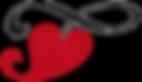 Das Herz, des Federwiegen Logos von Lullababy International. Die Federwiege mit Herz