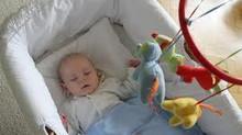 Lullababy® Federwiege – Testbericht vom Mami test Blog- getestet mit Familie, Freunden, Kinder- &amp