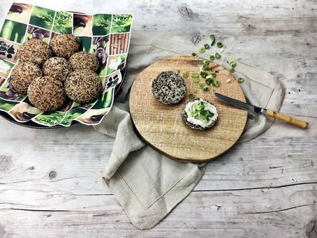 Healthy Buns: Schnelle Brötchen ohne (Getreide-)Mehl!