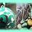 Bola Magie ein türkisgrüner Traum voller Magie,  für Frauen die Eleganz mögen und Ihren schönen runden Bauch fröhlich betonen