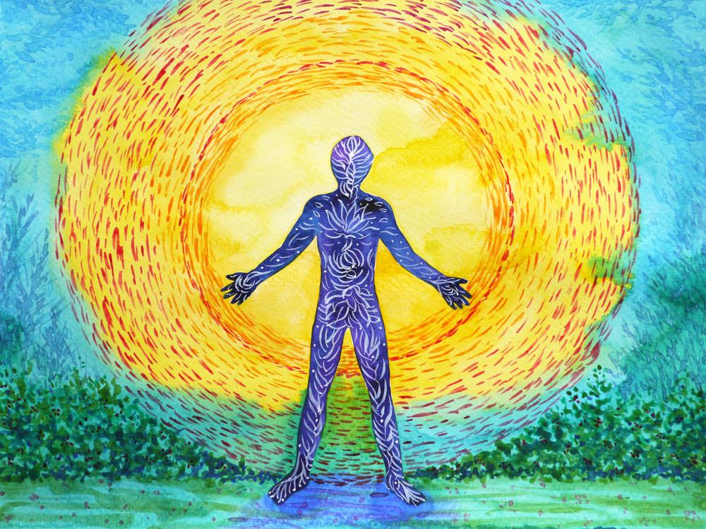 Unsere Zellen kommunizieren durch kleinste Lichtteilchen, die Biophotonen.  Dass Licht in unseren Zellen vorhanden  ist, wurde von dem russischen Mediziner Professor Alexander Gurwitsch  erstmals an Zwiebelwurzeln festgestellt und schließlich von deutschen  Biophysikern unter der Leitung von Professor Fritz-Albert Popp  wiederentdeckt und mit modernsten Forschungsschritten klar bewiesen.  Photonen sind Lichtquanten, die physikalisch kleinsten Elemente des  Lichts. Fritz Albert Popp spricht von Biophotonen, weil sie im Gegensatz  zu den Photonen des Sonnenlichtes von lebenden Zellen abgegeben werden.
