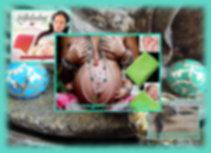 2016 Neuer Lullababy Federwiege Flyer:  CD Sanfte Töne -Mozarts Meisterwerke-,Schwangeren & Baby Pad, Schwangerschaftsbolas