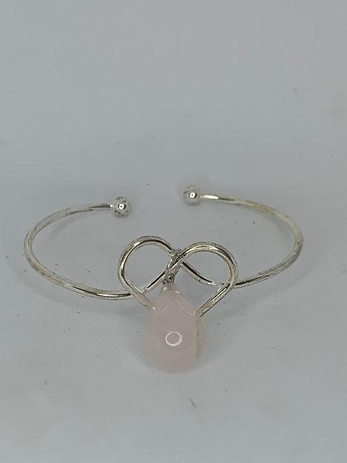 Heart Gemstone Wrap Bracelets (choose style)