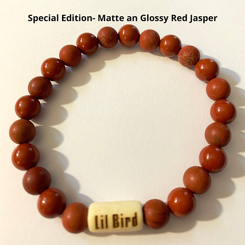 Special Edition- Matte and Glossy Red Jasper