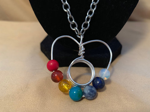 Wrapped Heart Chakra Necklace