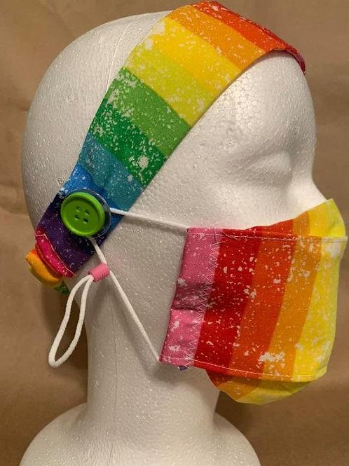 Mask Headband Combo