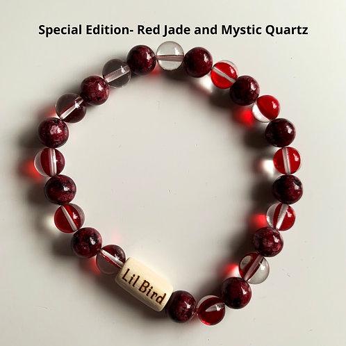 Special Edition- Red Jade and Mystic Quartz