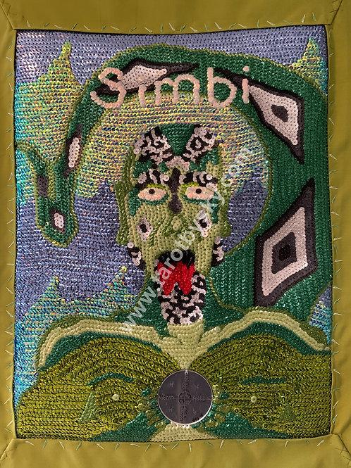 Simbi Sequin Flag