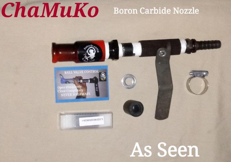 ChaMuKo Boron Carbide Nozzle kit.