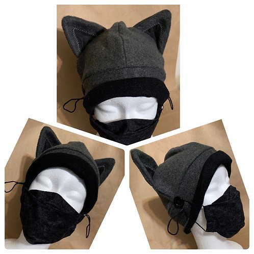 Fleece Hat and 3D style mask combos