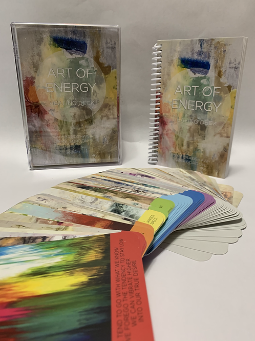 The Art of Energy - Healing Oracle boxed deck set