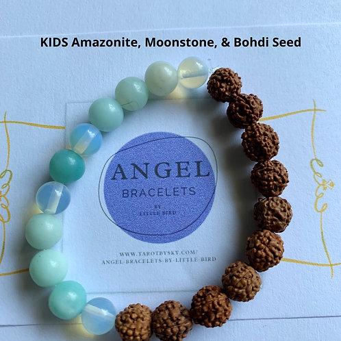KIDS Amazonite, Moonstone, & Bohdi Seed