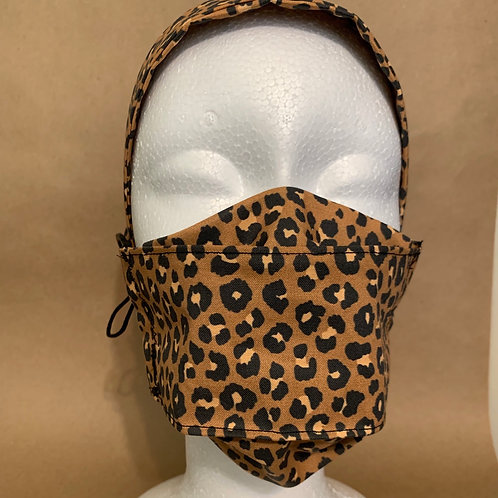 Animal Print Cloth Mask/Mask Sets