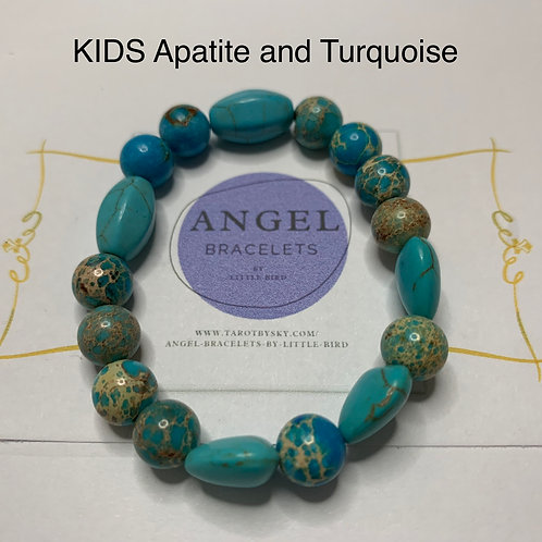 KIDS Apatite and Turquoise