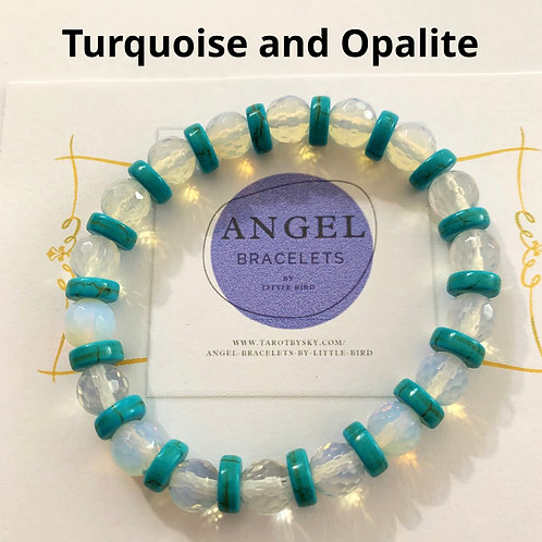 Turquoise and Opalite
