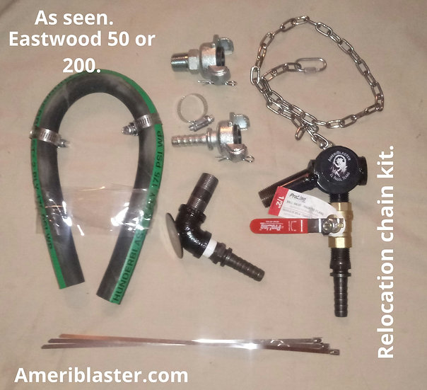 Eastwood Relocation Kit ( Use your own blast hose)