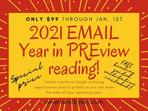 Year in Preview Email Reading