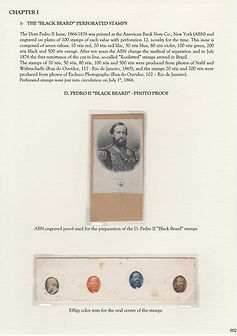 D.Pedro II - Emperor of Brasil American & Continental Bank Notes Issues 1866 - 1878