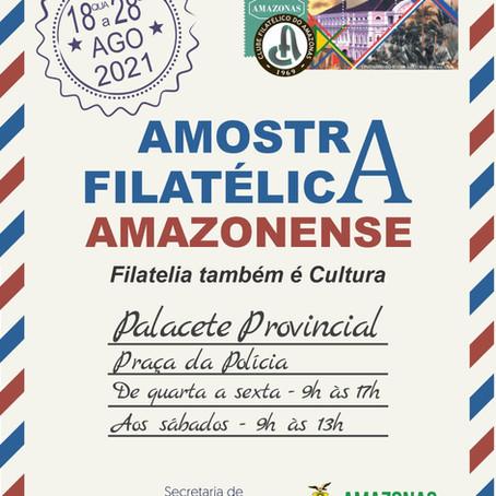 AMOSTRA FILATÉLICA AMAZONENSE