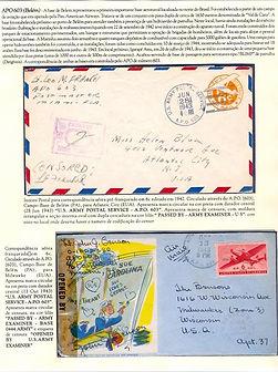 A.P.O.  Serviço Postal Norte Americano no Brasil durante a 2ª Guerra Mundial