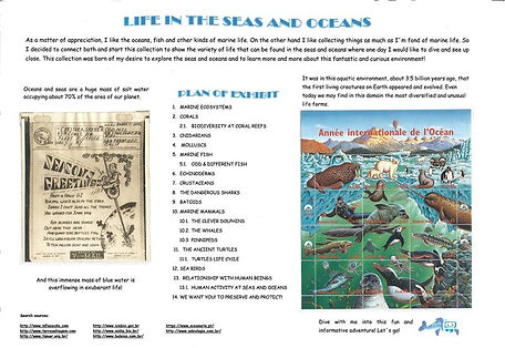 Life in The Seas and Oceans
