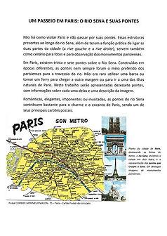 Um Passeio em Paris: O rio Sena e Suas Pontes