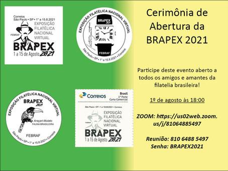 Cerimônia de Abertura da BRAPEX 2021