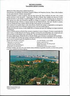 Recife e Olinda - Suas Pontes, Igrejas e Casarões