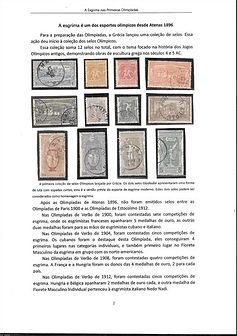 A Esgrima nas Primeiras Olimpíadas (1896/1964)