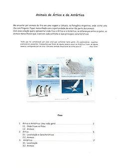 Animais do Ártico e da Antartica