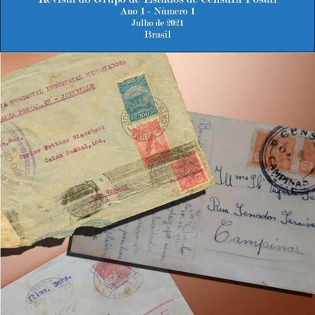 O Crivo - Nova revista sobre Censura Postal
