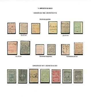 Selos Fiscais - Estado do Espírito Santo