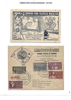 As 3 Primeiras Exposições Filatélicas - 1933/43