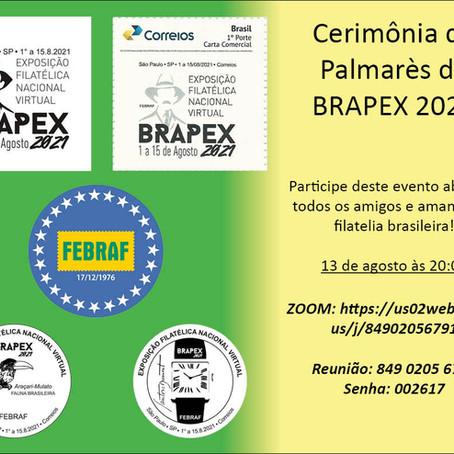 PALMARÈS DA BRAPEX 2021