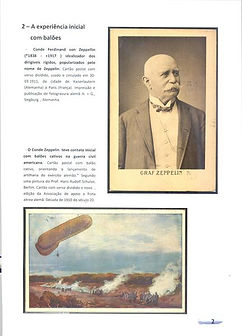 Aspectos da História dos Dirigiveis Zeppelins