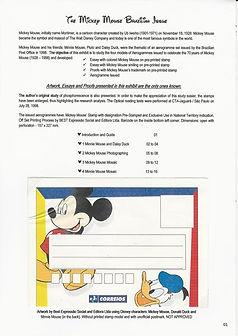 Aerogramas Disney -  Emissão 1998