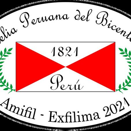 EXFILIMA 2021 - Exposição Filatélica VIRTUAL