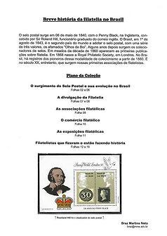Breve História da Filatelia no Brasil
