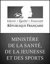 Logo ministère de la santé de la jeunesse et de sports