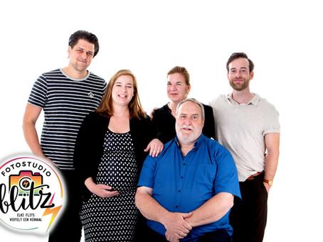 Familie studio shoot