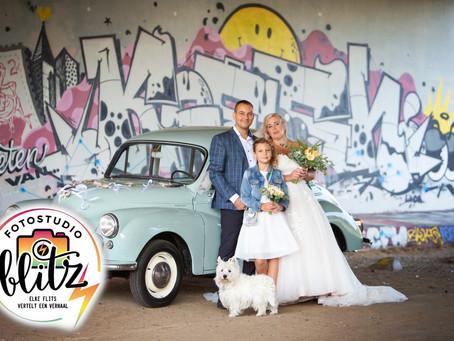 Stoere bruiloft
