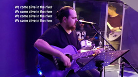 alive in the river
