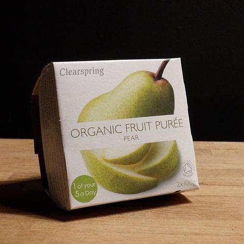 CLEARSPRINGS - ORGANIC FRUIT PUREE, PEAR