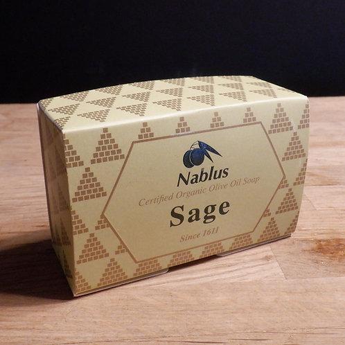 NABLUS OLIVE OIL SOAP - SAGE