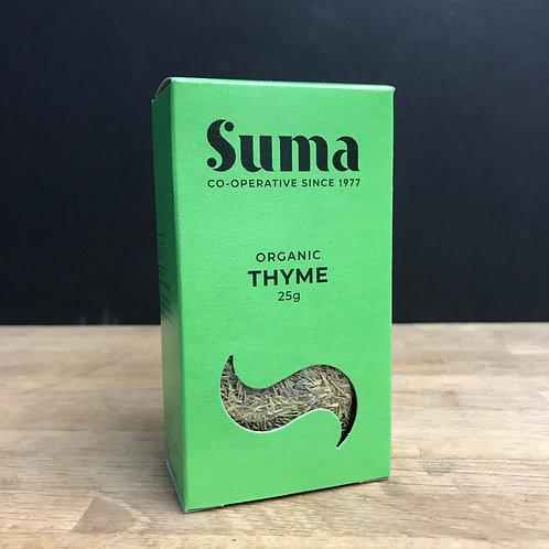 SUMA ORGANIC THYME 25g